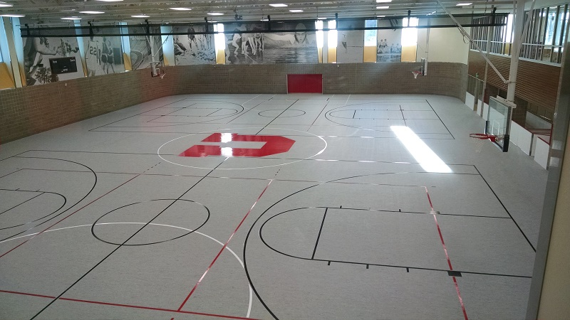 Athletic Gym Flooring