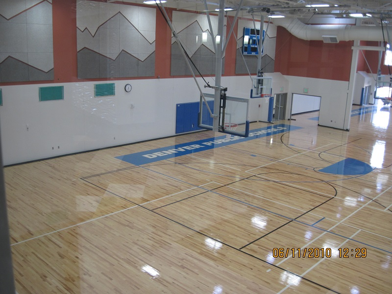 Athletic Wood Flooring