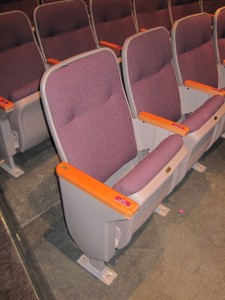 Auditorium Seat Installation