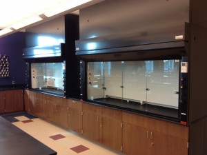 Fume Hoods Wood Base Cabinets