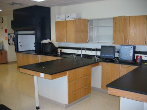 Wood Steel Science Lab Furniture